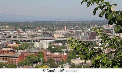 Downtown Portland Oregon 1080p