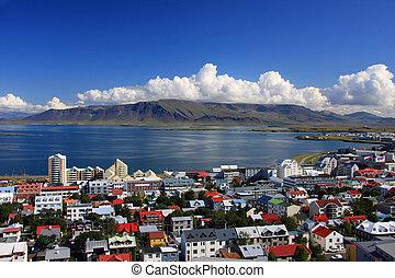 Reykjavik - Downtown Reykjavik, Iceland