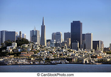 Downtown San Francisco - View of downtown San Francisco from...
