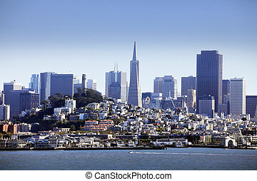 Downtown San Francisco - View of downtown San Francisco