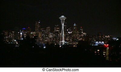 Downtown Seattle - fast zoom in (1 of 2)