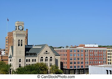 Downtown Sioux City, Iowa - View of downtown Sioux City, ...