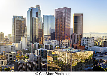 Downtown Skyline Los Angeles, California, USA
