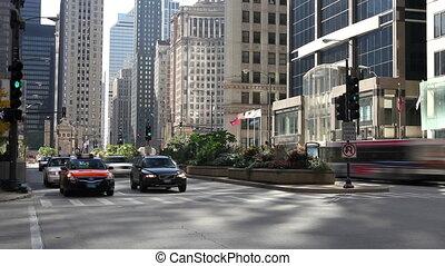 Downtown Street Time Lapse