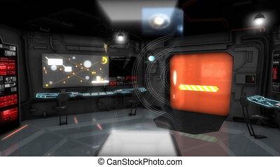 dowodzić, pokój, statek kosmiczny, fantastyka, panowanie,...