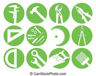 doze, ferramentas