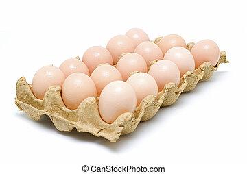 Dozen eggs-clipping path