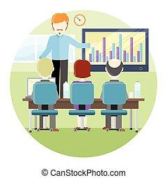 dozent unternehmer oder dozent unternehmer vektor clipart vektor suchen sie nach. Black Bedroom Furniture Sets. Home Design Ideas