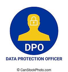 dpo, protection, données, officier, illustration