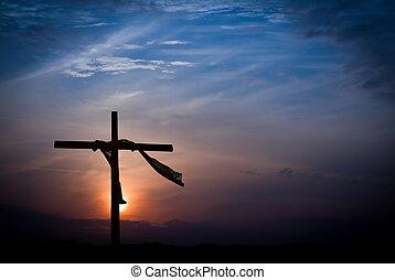 drámai, húsvét, napkelte, reggel
