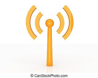 drótnélküli távíró, antenna