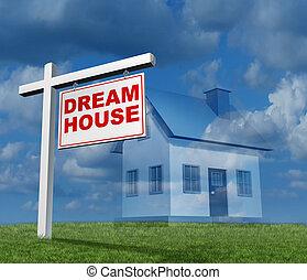 drøm hus, begreb