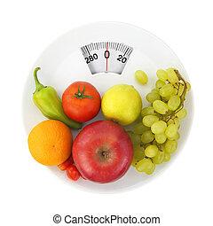 držet dietu, a, výživa