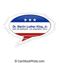 Dr. Martin Luther King Jr. Callout - Martin luther king call...
