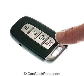 draadloos, keyless, opener, deur, fob
