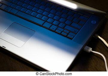 draagbaar computer toetsenbord