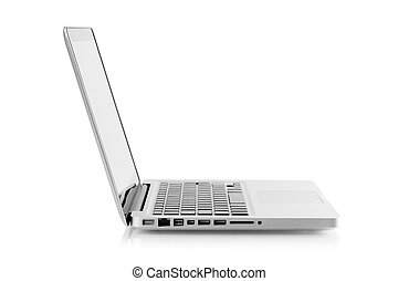 draagbare computer, aluminium