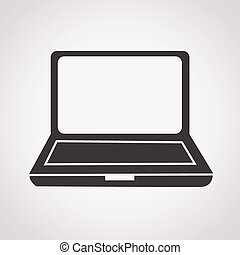 draagbare computer, pictogram