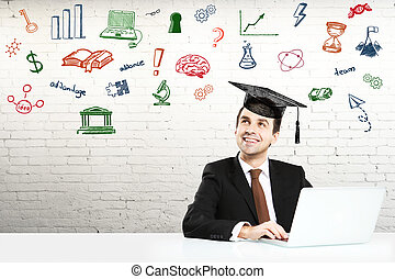 draagbare computer, student