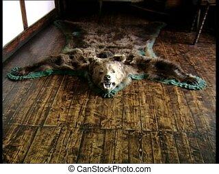 DRACULA CASTLE bearskin fangs zoom