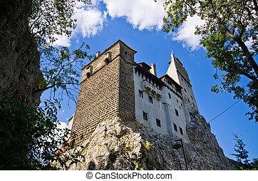 Dracula castle in Bran, Romania