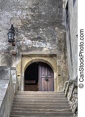 dracula\'s, castello, entrata