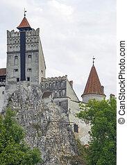 Dracula's Castle, built on a rock