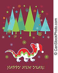 dragão, novo, 2012, ano