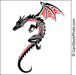 dragão, tatuagem