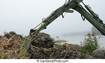 drag clearing lake coasts - drag clearing coasts in the...