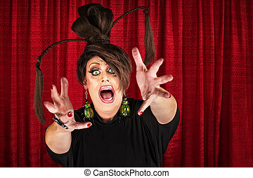 Drag Queen Reaching Out