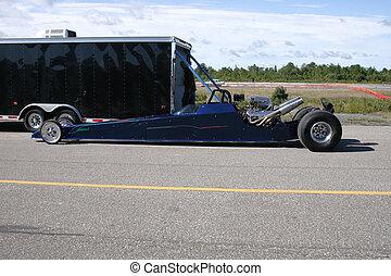 drag race car 50 - taken at elliot lake