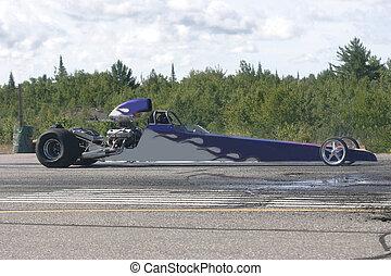 drag race car 7 - taken at elliot lake drag races