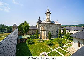 Dragomirna fortified monastery