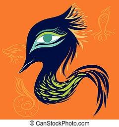 Dragon art monster