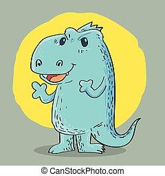 Dragon cartoon design