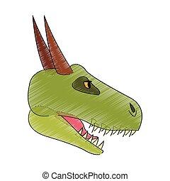 dragon cartoon icon