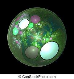 Dragon Egg Fractal Design
