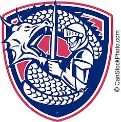 dragon-fighting-knight-crest