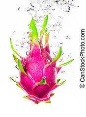 Dragon fruit fresh from the tree