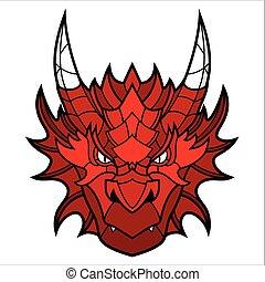 Dragon head mascot