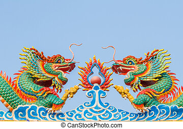 dragon of chinese