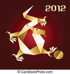 Dragon Origami, 2012 Year