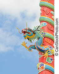 Dragon sculpture chinese style