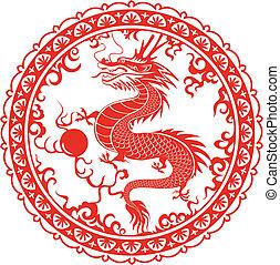 dragon., simbolo, 2012