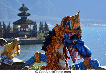 Ulun Danu Beratan Lake Temple in Bali Indonesia - Dragon ...