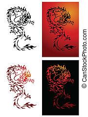 Dragon Vector Illustrator