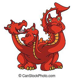 Dragon With Three head