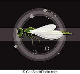 Dragonfly Insects Vector