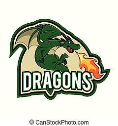 dragons illustration design